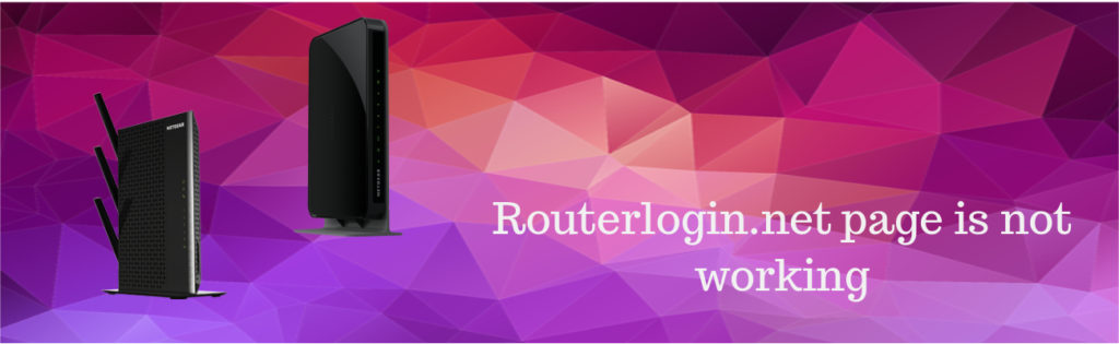 routerloginnet page is not working