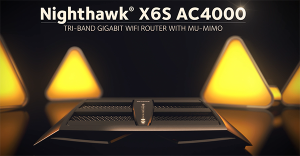 Netgear Nighthawk X6S AC4000 router login